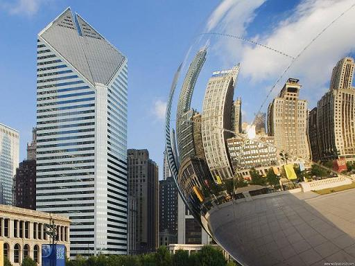 Bean-Millennium-Park-Chicag-Illinois-wallpaper